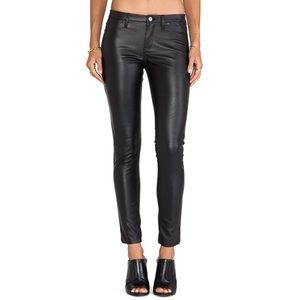 BlankNYC Black Vegan Leather Skinny Pants
